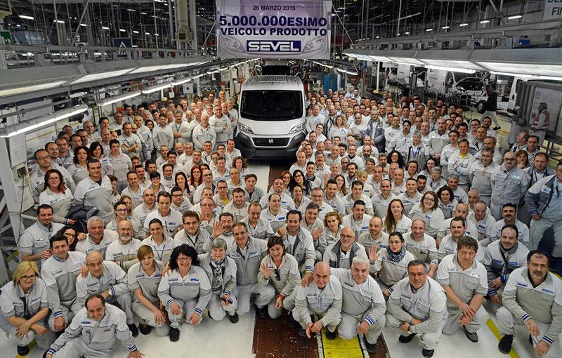 Fiat Ducato ги надмина рекордите на фабриката Севел