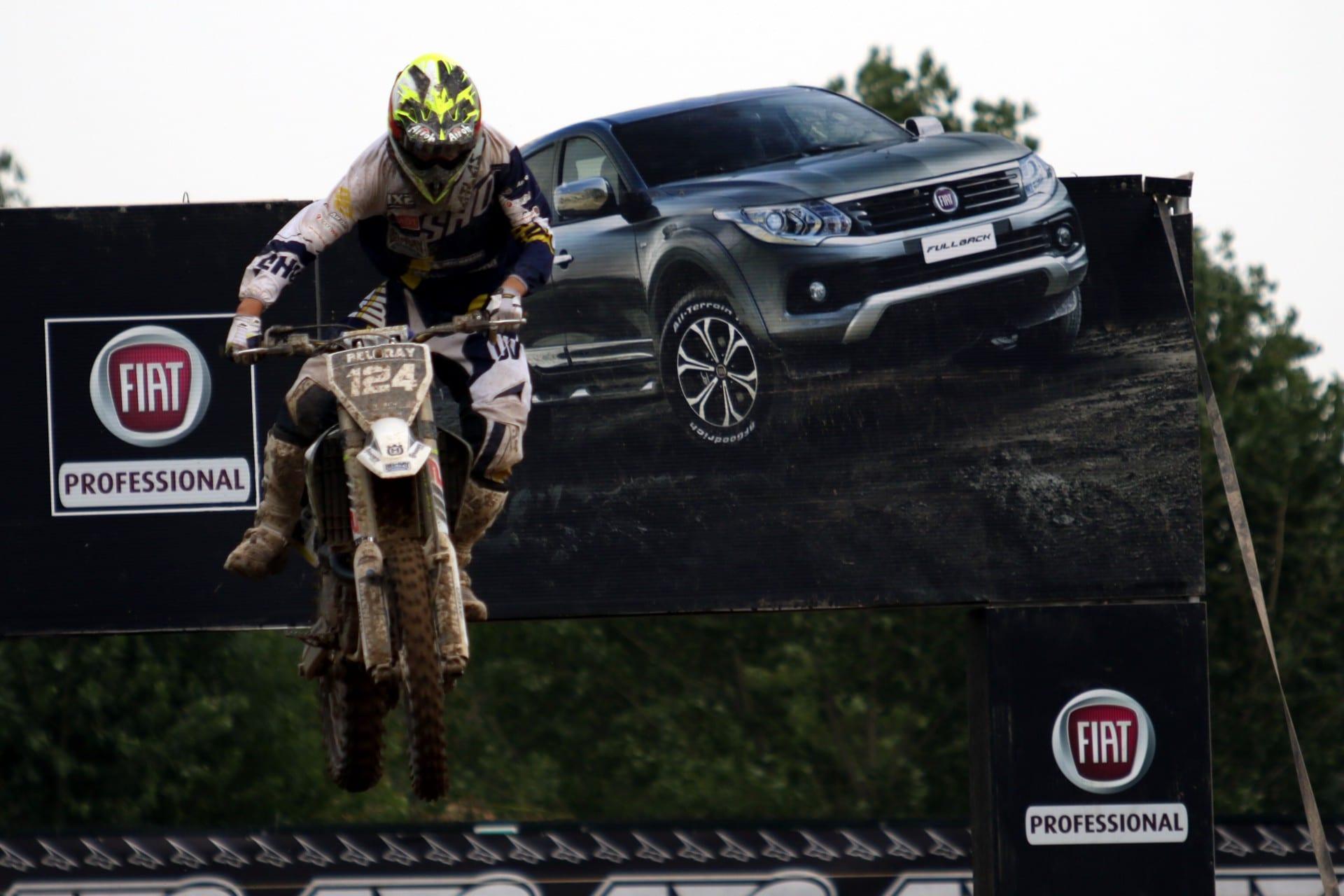 Fiat Fullback на MxGP Motocross Grand Prix на Ломбардија – Италија