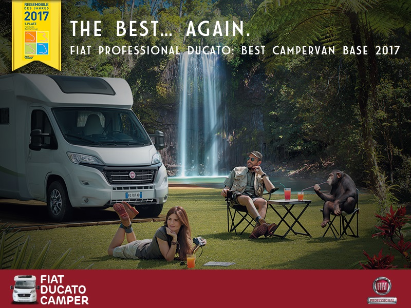 "Ducato по десетти пат прогласен за ""Best Motorhome Base Vehicle of the Year"""