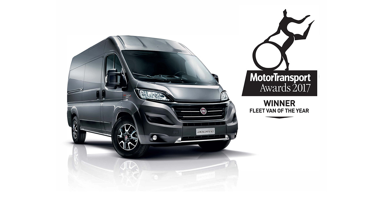 "Ducato избран за ""Fleet Van of the Year 2017"" во Велика Британија"