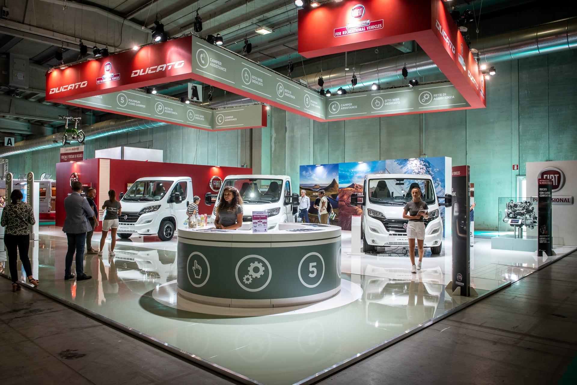 Fiat Professional на Саемот за кампери 2018 во Парма