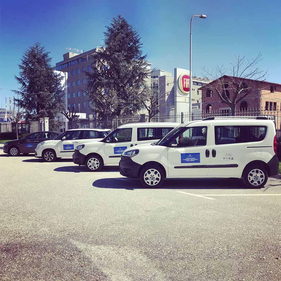 Аутомобиле СК донираше четири возила за Министерството за здравство